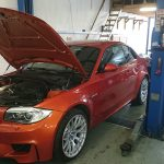 BMW 1M workshop