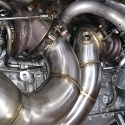 Puma racing stainless pipe work